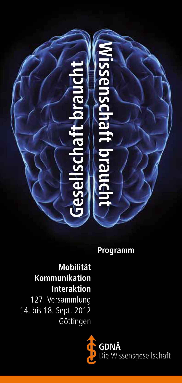 GDNA Programm 2012 Göttingen 1